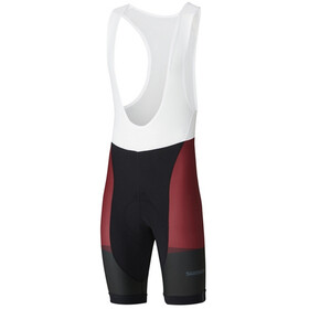 Shimano Team Bib Shorts Men red